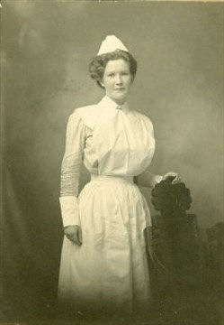 Photo of Alice Trusdale – Photo courtesy of Waterford Heritage & Agricultural Museum.