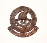 Badge – 15th Bn cap badge. Photo by BGen G. Young 15th Battalion Memorial Project Team