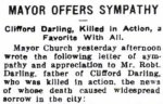 Press Clipping 2 – Article dated April 21, 1915.