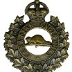 Cap badge – Cap badge Canadian Engineers. Driver Casey originally enlisted in the 92nd Bn but was sent to the Canadian Engineers  as a reinforcement.  Submitted by Capt (ret'd) V. Goldman,  15th Bn Memorial Project Team.  DILEAS GU BRATH
