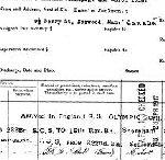 Document – Documents attestant ses déplacements entre le Canada et l'Angleterre, de même que ses transferts dans différentes unités et les circonstances liées à son décès.