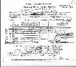 Document – Fiche du service et des blessures. - Service actif, en page 1, attestant ses déplacements entre le Canada et l'Angleterre, de même que ses transferts dans différentes unités et les circonstances liées à son décès.