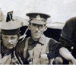Photo de Groupe – Noms des personnes représentées dans la photo prise pendant l'entraînement dans le 222e Bataillon du Corps expéditionnaire canadien : Spouler, Iskerwood, Henry Jackson, Taylor, Doman