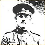 Photo of Walter Pothier – Pte Walter Pothier, 26th BN 1916 Youngest son of David & Josephine Pothier of Wedgeport NS. He was underage at time he volunteered. He  used his older brother's birth date for his own when he signed up in September 1915 at Sussex NB.