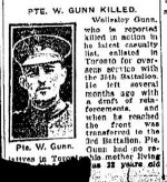 Newspaper Clipping (2) – From the Toronto Star for 29 February 1916.