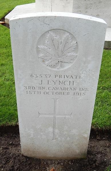 Grave marker – Photo courtesy Wilf Schofield, England