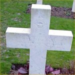 Grave marker – Photo by Malcolm Cromarty.