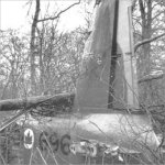 Bristol crash site – Photo courtesy of the National Archives of Canada, C207979.