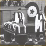 Funeral – Photo courtesy of the National Archives of Canada, C149889.