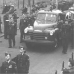 Convoy of Bristol Crash Victims – Photo courtesy of the National Archives of Canada, C149890.