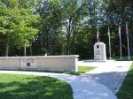 War Memorial – The War Cenotaph in Shallow Lake, Ontario, Canada.