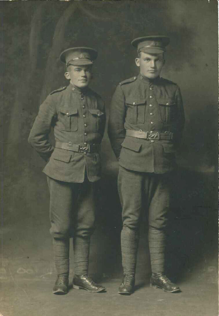Group Photo – John Henry Blythe (left) and George James Blythe (right)
