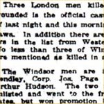 Newspaper Clipping – Article