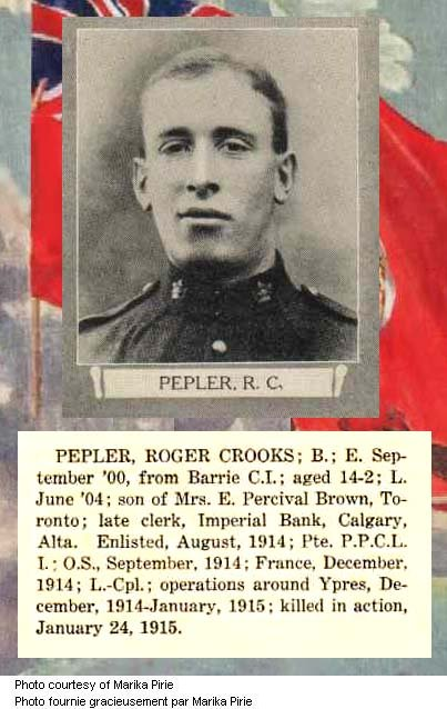 Photo of Roger Crook Pepler