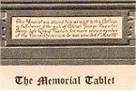 Memorial Tablet – Edward Cuthbert Norsworthy is remembered on this brass Memorial Tablet. It was unveiled on May 1st, 1921 in memory of Upper Canada College students who died on active service during  the First World War.  Upper Canada College is located in Toronto, Ontario.