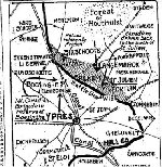 Newspaper Clipping – Second part of an account published in the Toronto Star for 1 May 1915 of the battle in which Major Norsworthy was killed in action.  His death is described in this article.