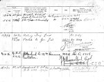 Service Records (back) – Casualty Form - Active Service