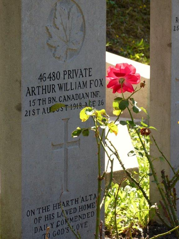 Grave Marker – Picture taken at the Commonwealth Graves section in the General Cemetery of The Hague, Netherlands