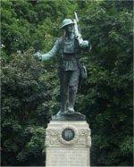 Monument – Orangeville (Dufferin County) Ontario War Memorial.
