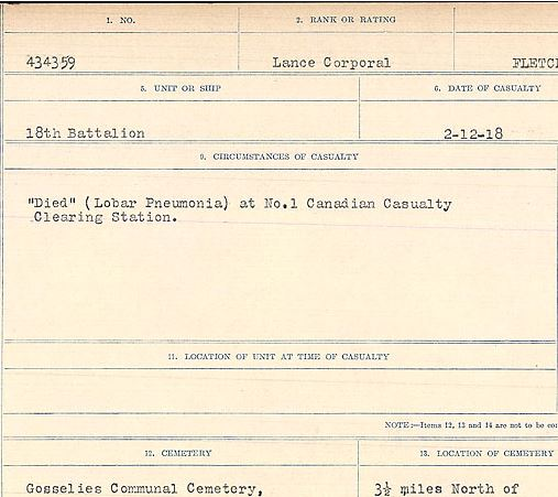 Circumstances of death registers – Contributed by E.Edwards www.18thbattalioncef.wordpress.com