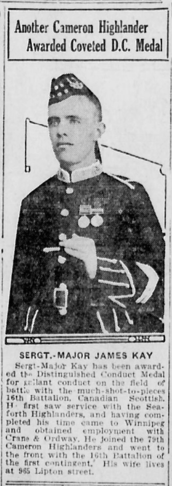 Newspaper clipping – In memory of the men and women memorialized on the pages of the Winnipeg Evening Tribune during World War One. Submitted for the project, Operation: Picture Me.