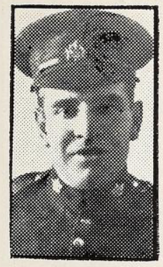Photo of JAMES MAY – Photo from the National Memorial Album of Canadian Heroes c.1919. Submitted for the project, Operation: Picture Me.