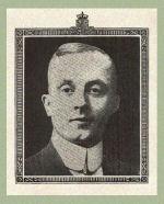 Photo of Frederick Albright – Source:  Acta Victoriana War Supplement, Victoria College, Toronto, Ontario, December 1919.