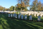 Railway Dugouts Burial Ground – The Railway Dugouts Burial Ground Cemetery, located approximately 3 kilometres to the south of Ieper, Belgium. May they rest in peace. (J. Stephens)
