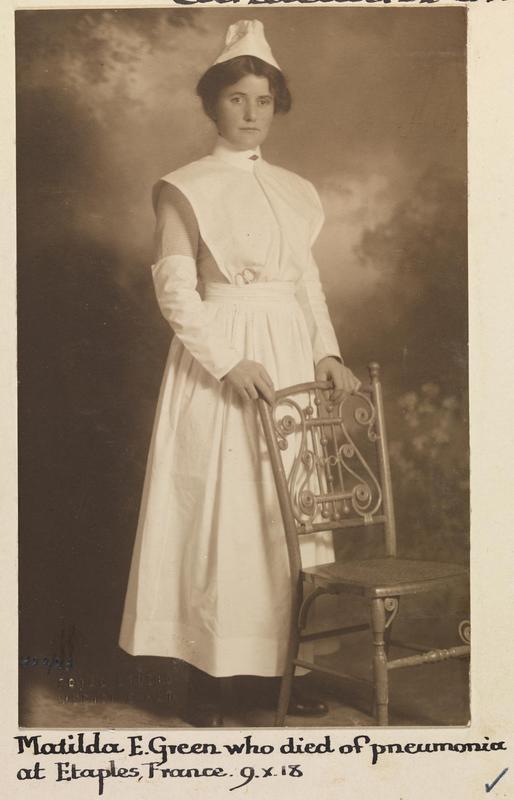 Photo of Matilda Green – © IWM (WWC H22-23)