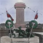 Binscarth Manitoba War Memorial – This monument was unveiled in 1920.