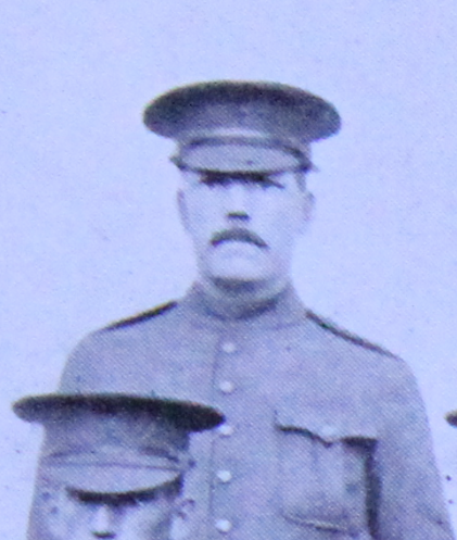 Photo of William Slack – Enrolled with the 37th Battalion CEF. Submitted for the project, Operation: Picture Me