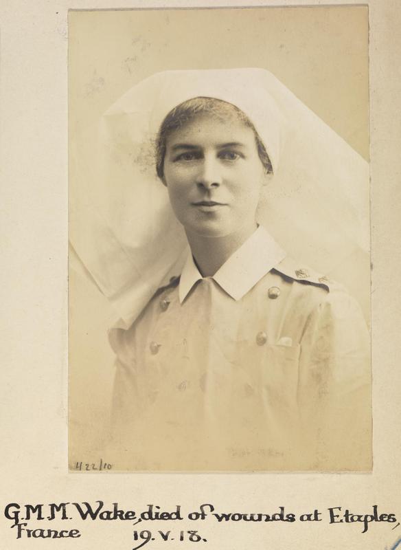 Photo of Gladys Wake – © IWM (WWC H22-10)