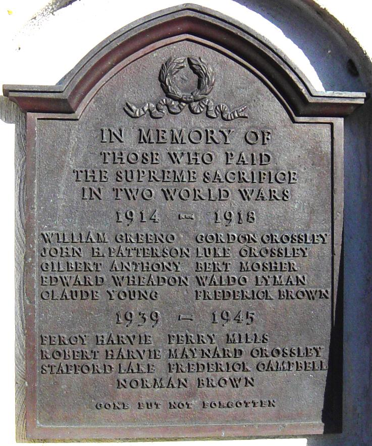 Memorial – Brammer war memorial
