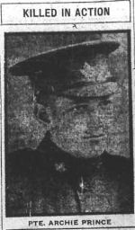 Newspaper Clipping – THE CALGARY DAILY HERALD THURSDAY MAY 16, 1918