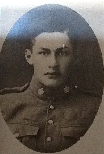 Photo of John Nicholson – Private John Nicholson. Enlisted in 1915 when he was 17 years old. Died in France at 19 years old.