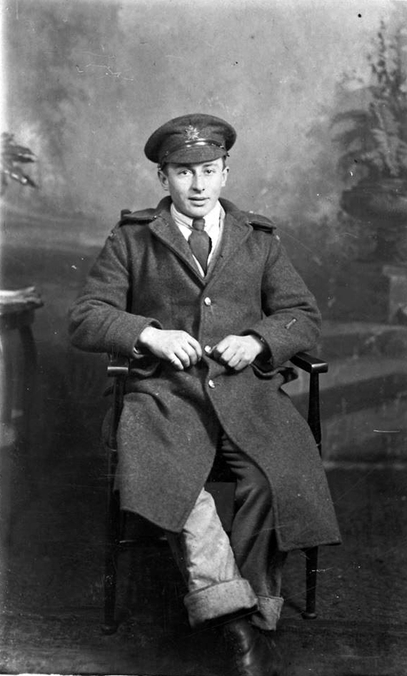 Photo of Thomas Wellsley Smith – Thomas Wellsley Smith born 30 March East Baccaro, Shelburne, Nova Scotia. Killed in action at Mericourt, Somme, Picardie, France on 15 October 1917. He is buried in La Targette British Cemetery, Neuville-St. Vaast, France.