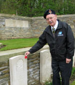 Paying Respects – Jimmy's nephew, Frank Morrison (85 years old), made his first pilgrimmage to Vimy Ridge to commemorate the 95th anniversary of the Battle at Vimy Ridge. Frank is the first member of his family (other than Jimmy's parents) to visit Jimmy's grave. What an amazing moment!