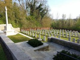 Cemetery – Here is a photo of Le Petit Vimy cemetery