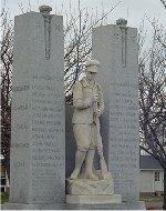 Merritton Ontario War Memorial
