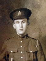 Photo of Samuel Dan Boutilier – Private Samuel Dan Boutilier of the 106th Battalion (Nova Scotia Rifles) on February 10, 1916.