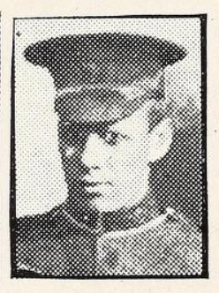 Photo of GEORGE CRUICKSHANK – Photo from the National Memorial Album of Canadian Heroes c.1919. Submitted for the project, Operation: Picture Me.