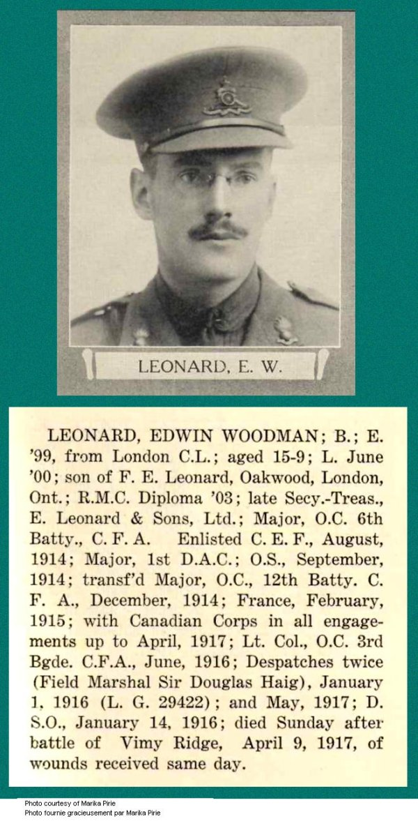 Photo of Edwin Woodman Leonard