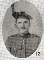 Photo of ALEXANDER DANIEL MCISAAC – In memory of the men who joined the 185th Battalion (Cape Breton Highlanders) who went to war and did not come home. Submitted for the project, Operation Picture Me