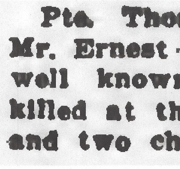 Newspaper clipping – From the Daily Colonist of April 26, 1917. Image taken from web address of http://archive.org/stream/dailycolonist59y118uvic#page/n0/mode/1up