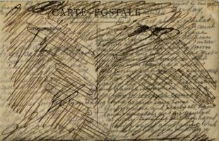 Post Card – Censored postcard from Clarence to his family.