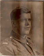 Photo of Clement Spencer – This is a photo of my Grandfather who at the age of 23 died of wounds while serving with the 25th battalion.