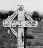 Temporary Gravemarker – Submitted for the project, Operation: Picture Me.