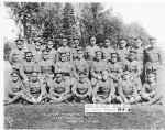 Group Photo – Eastern Township Boys, 148th Battalion, Valcartier Camp