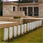 Valenciennes Cemetery's Entrance