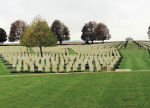 Cabaret-Rouge British Cemetery – A panoramic view of the Cabaret-Rouge British Cemetery, located approximately 6 kilometres from the Vimy Memorial, just outside of Souchez, France. May they rest in peace. (J. Stephens)